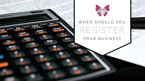Q: When you you have to register as a business if your selling your hobby items…