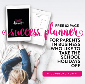 Business Planner for mums in business
